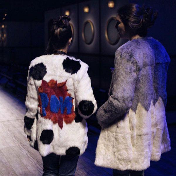Catharina Dieterich e Manuela Bordasch com casaco C.MINDOV.