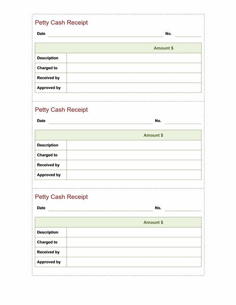 microsoft office receipt templates