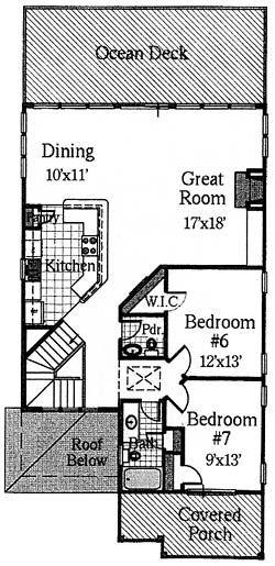 Coastal Home Plans - Too Tall Tom