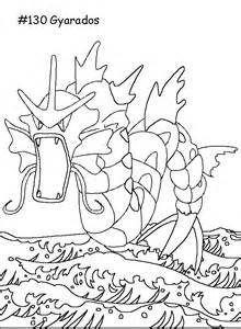 Pokemon Gyarados Coloring Pages Sketch Template Pokemon Coloring