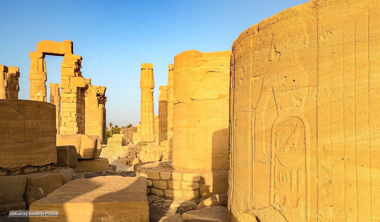 Sudan Antiquities Soleb Temple Northern Sudan من آثار السودان سولب شمال السودان By Hon Soon Sudan Soleb Anti Ancient Ruins Egypt Places To Visit