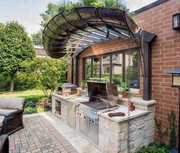 Kalamazoo Outdoor Gourmet  Small Outdoor Kitchen  Kevin's Place Unique Small Outdoor Kitchen Designs Inspiration