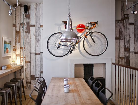 Bike Elevated :: Society Cafe Interior from Simple Simon Design