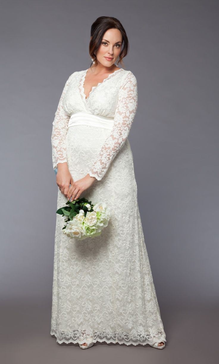 Vestidos de novia para gorditas embarazadas