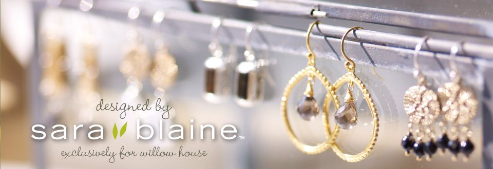 Simply Good Design just got better. Willow House has partnered with renowned jewelry designer Sara Blaine to launch a dazzling new jewelry division, starting this fall. One groundbreaking company — two unlimited opportunities for success. Reserve your future with Willow House today.  Contact me at www.denisecosgrove.willowhouse.com for more information.