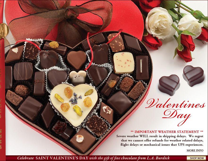 Best Chocolates For Valentine S Day Burdick S Gourmet Chocolate
