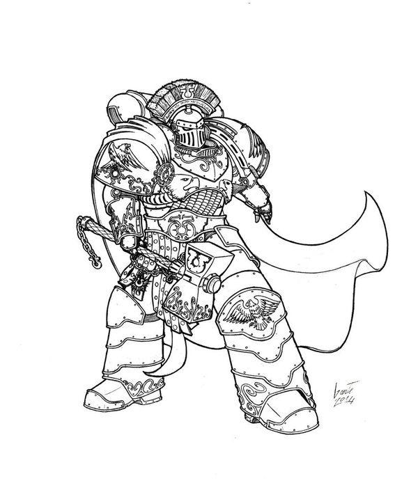 Арты художника Greyall warhammer30k, Warhammer 40k ...