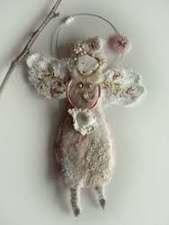 Image result for handmade fabric angels