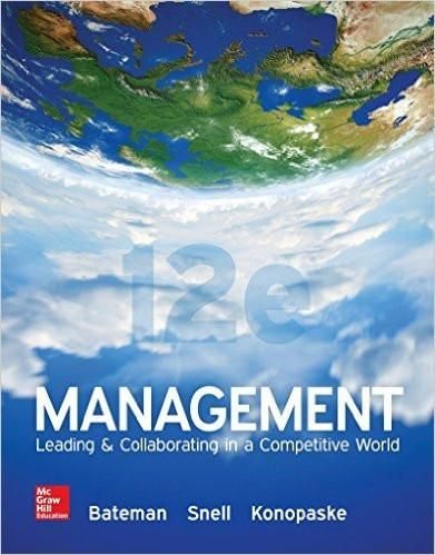 Management leading collaborating in a competitive world 12th management leading collaborating in a competitive world 12th edition by thomas bateman author fandeluxe Image collections