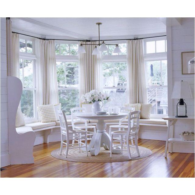 Window Seat Design, Breakfast Nook Decor, Bay