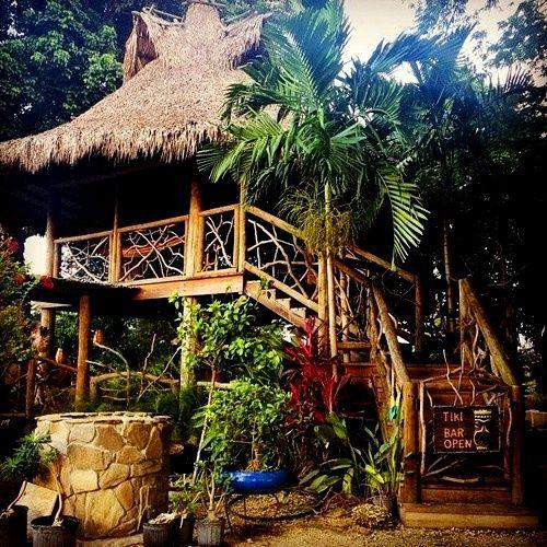Tiki Bar Open... …
