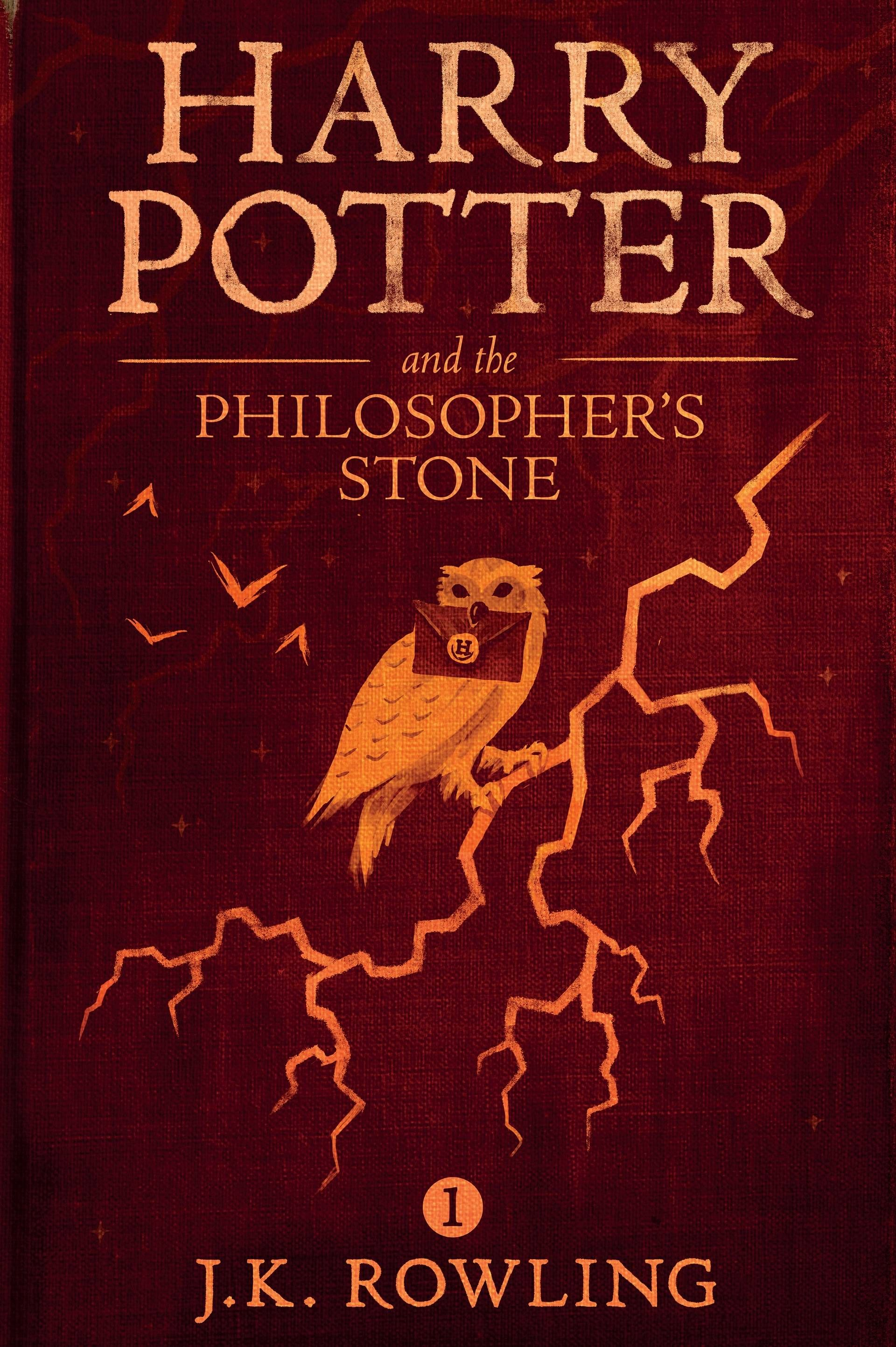 New Harry Potter ebook covers: The Philosopher's Stone (from Imgur ...