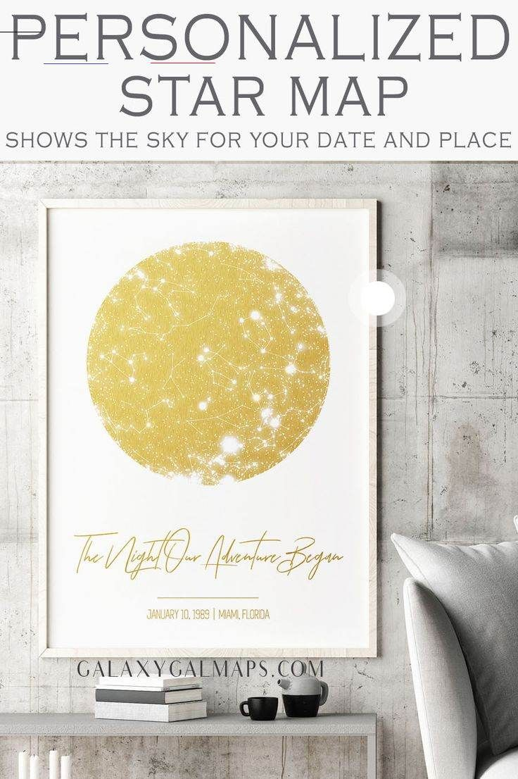 Your PERSONAL Star Chart by Date  - Gift For Couple, Leo Printable, New Born, Unique Baby Gift, Valentine's Day Gift, First Wedding GiftFrom Daughter To Mom, New Relationship, Art Print Moon, God Daughter, 2Nd Anniversary, #LeoPrintable #NewBorn #UniqueBabyGift #Valentine'sDayGift #FirstWeddingGiftFromDaughterToMom #NewRelationship #ArtPrintMoon #GodDaughter #2NdAnniversary<br>