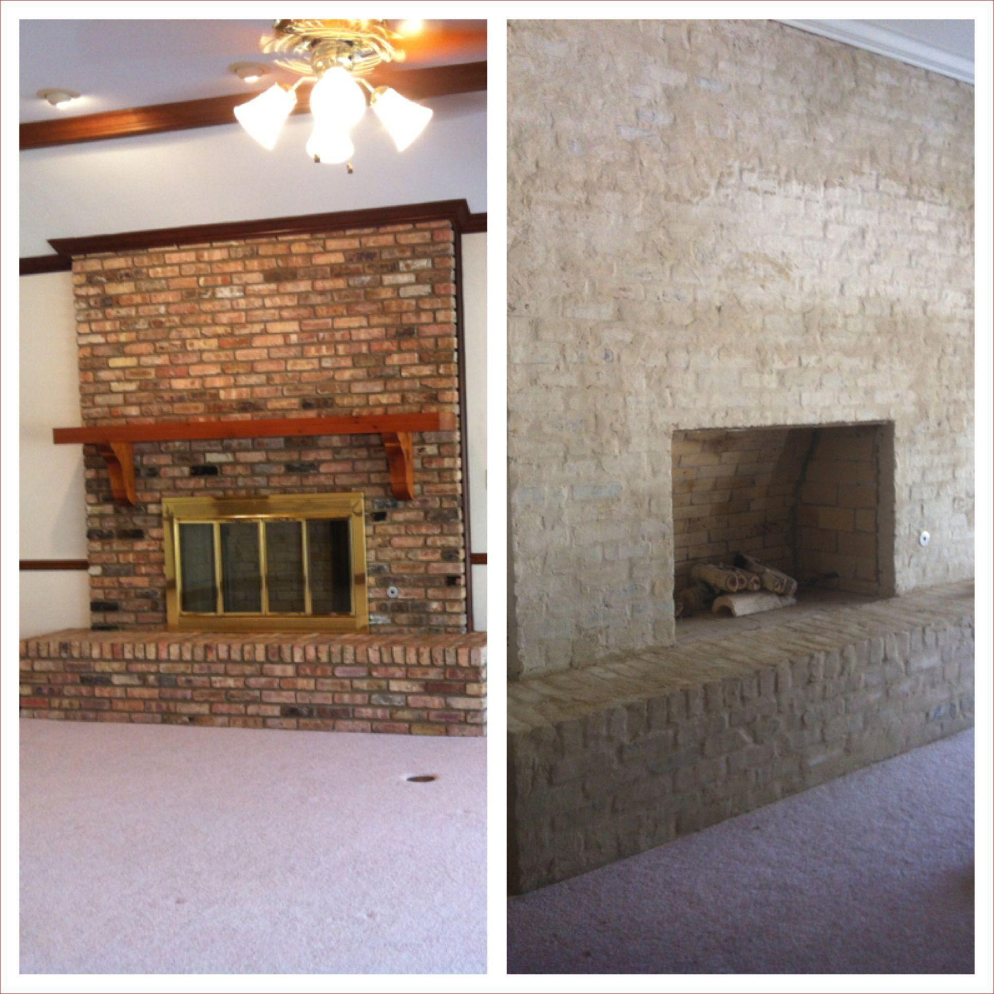 Lovely Diy Brick Fireplace Makeover Ideas We Otomotive Info In