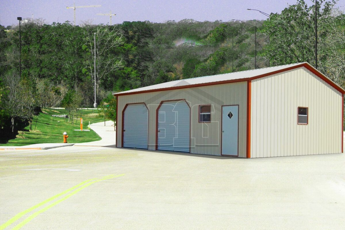 The Forever Garage 32x25x11/8 in 2019 Metal garages