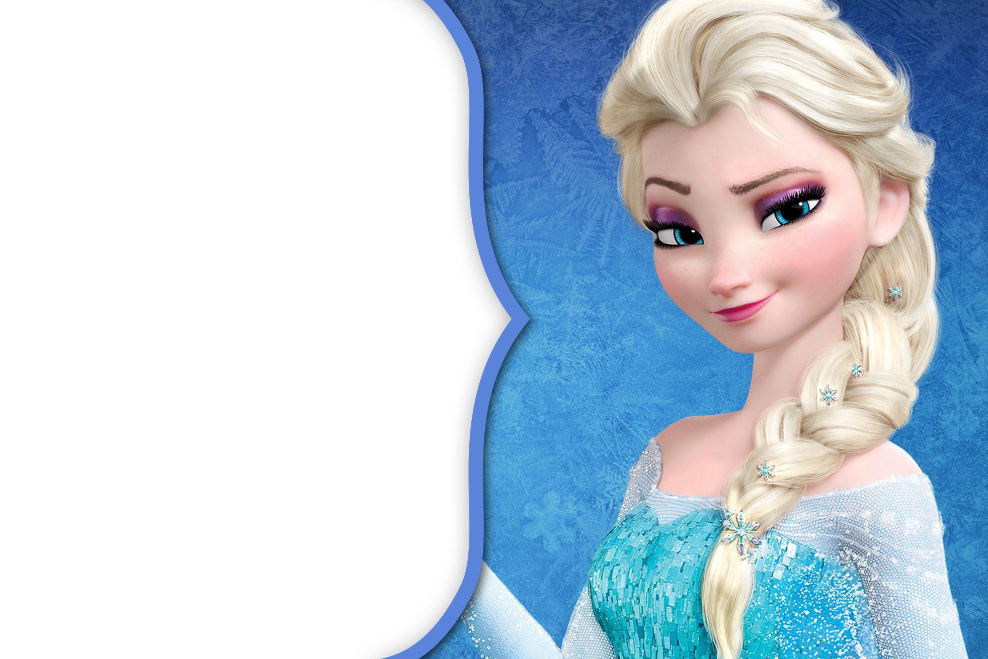 1 Convite17 Frozen Disney Frozen E Cartoes Frozen