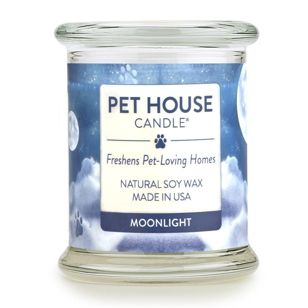 Moonlight Pet House Candle Pet Odor Candle made with 100 Soy Wax Fragrance Description Moonlight is a classic masculine fragrance that blends a combination of woody scent...