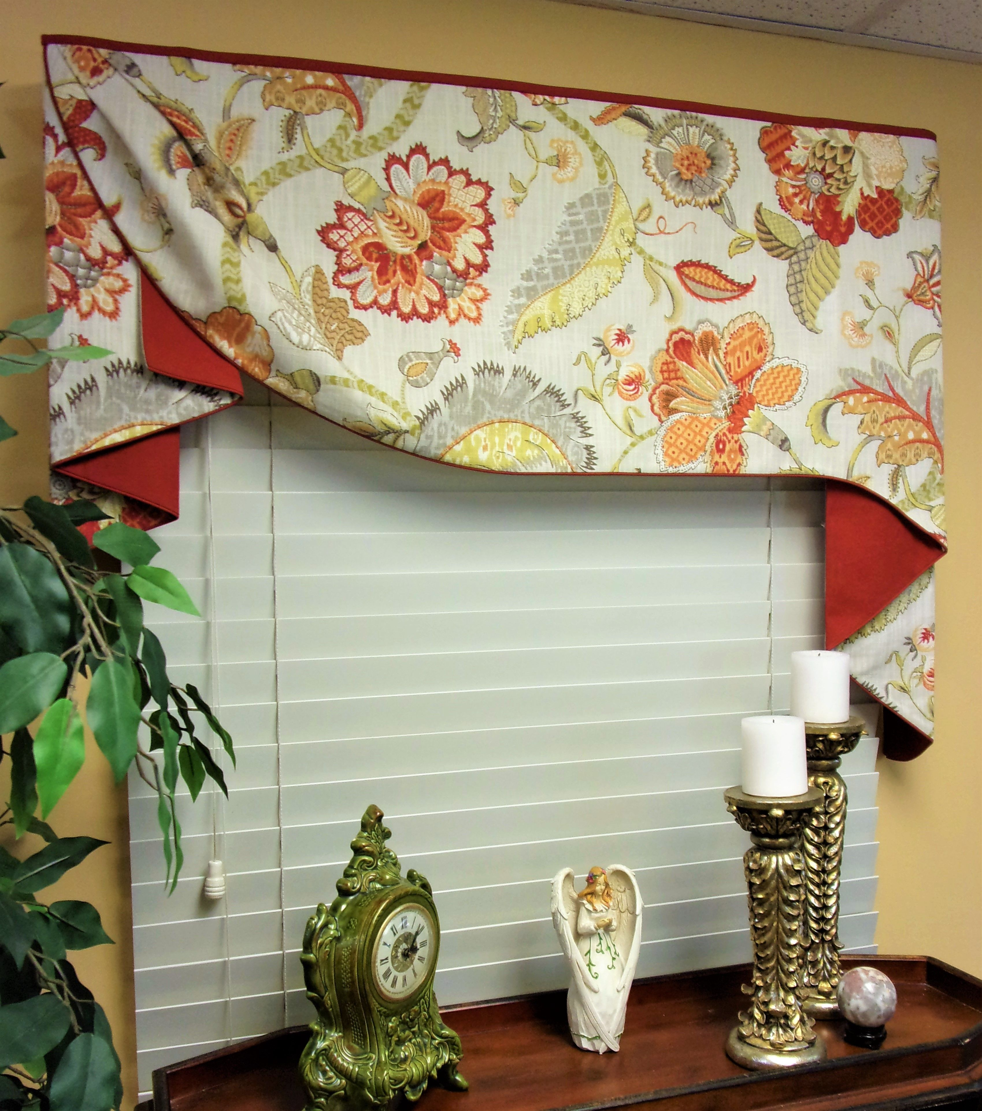 This Custom Moreland Valance Has A Secret It Is Installed