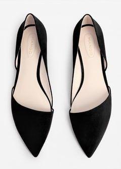 Zapato plano punta   Zapatos bajos de moda, Zapatos