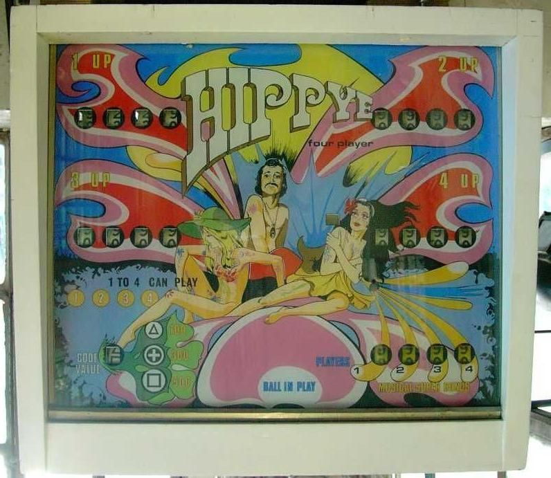 Bally Hippye Bally Hippie pinball machine - collector ...