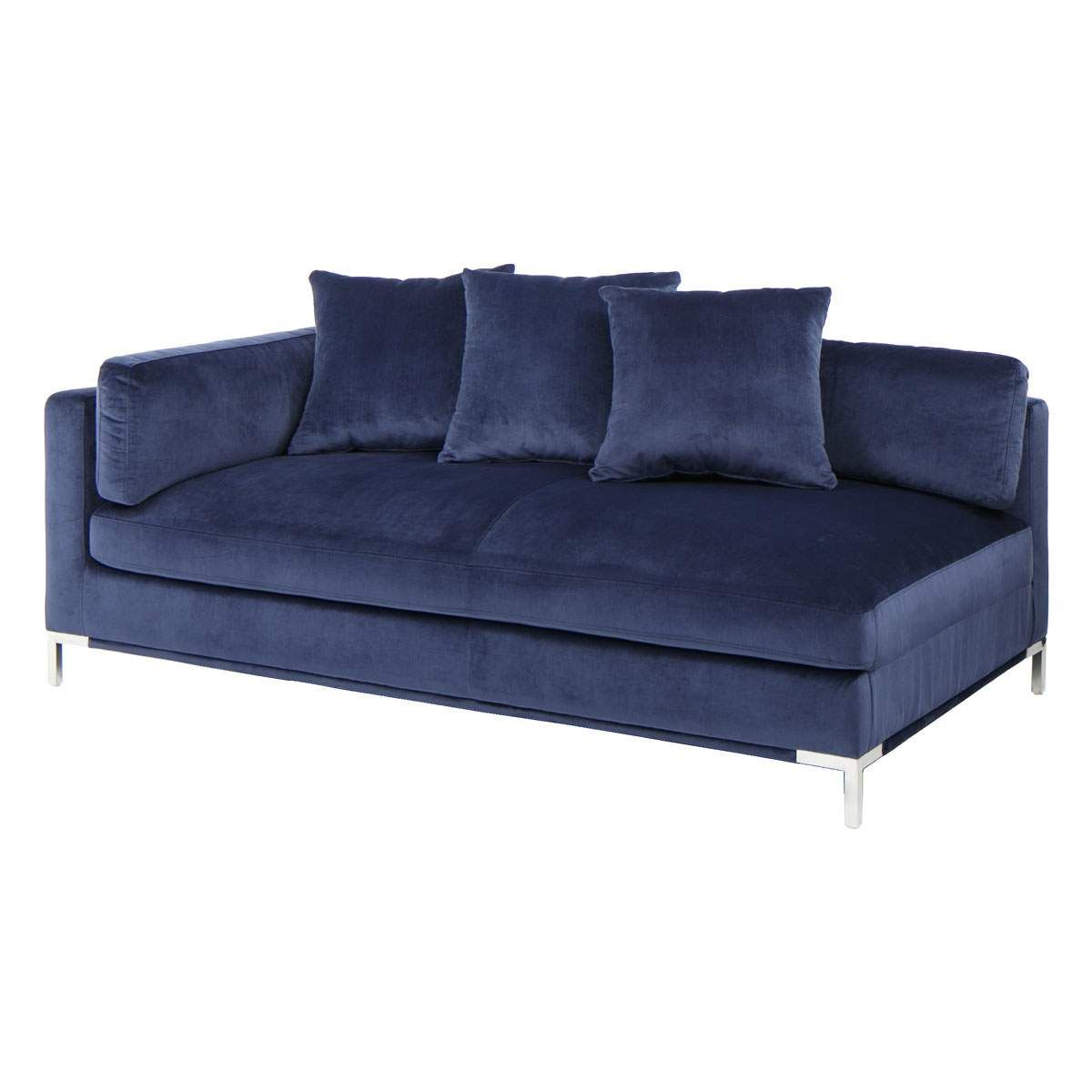Prime Belair Laf Chaise In Blue Jeromes Furniture In 2019 Gmtry Best Dining Table And Chair Ideas Images Gmtryco