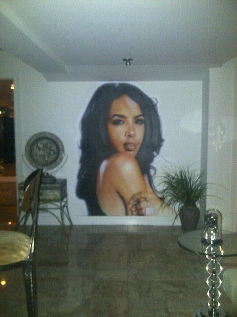 Aaliyah Painting In Missy Elliott S House Amazing Inspirational