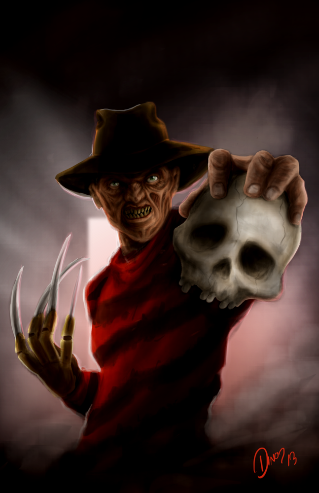 Freddy Krueger By Antonio Salazar Freddy Krueger A Nightmare On Elm Street Horror Icons