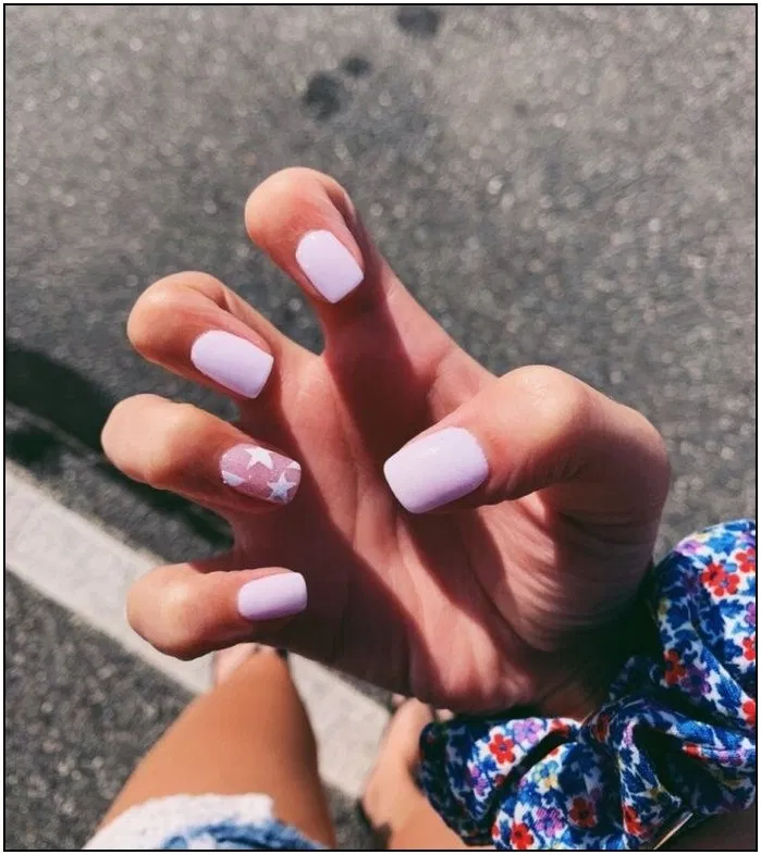 191 simple short acrylic summer nails designs page 35 | homedable.com