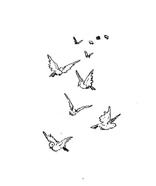Flying Bird Drawing Simple Cute Simple Bird Design Images
