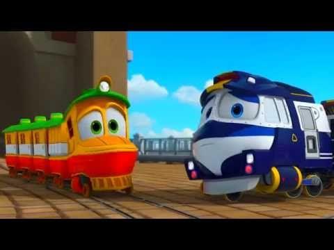 Локо робот поезд мультик про паровозик для мальчиков и ...