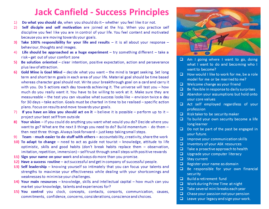 Ebook jack success principles canfield the download by