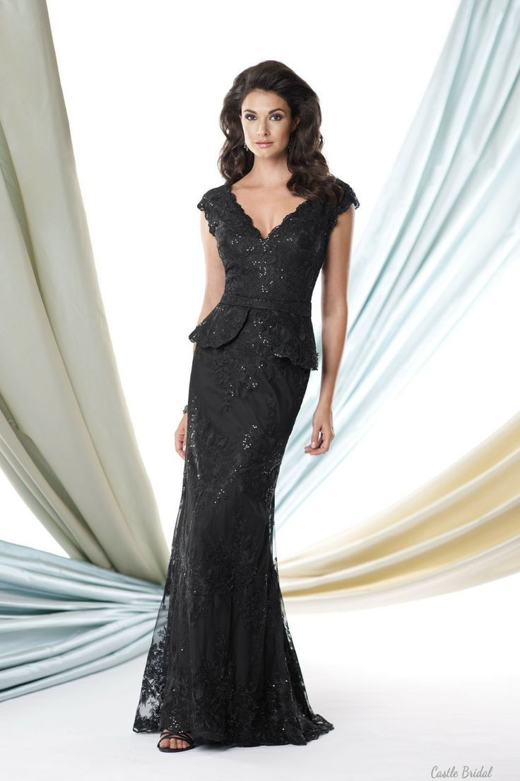 Lace mermaid wedding guests dress at castlebridal lace