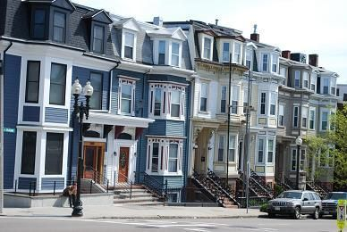 South Boston East Broadway Row House Capital Residential Group Residential Building Boston Apartment Boston Neighborhoods