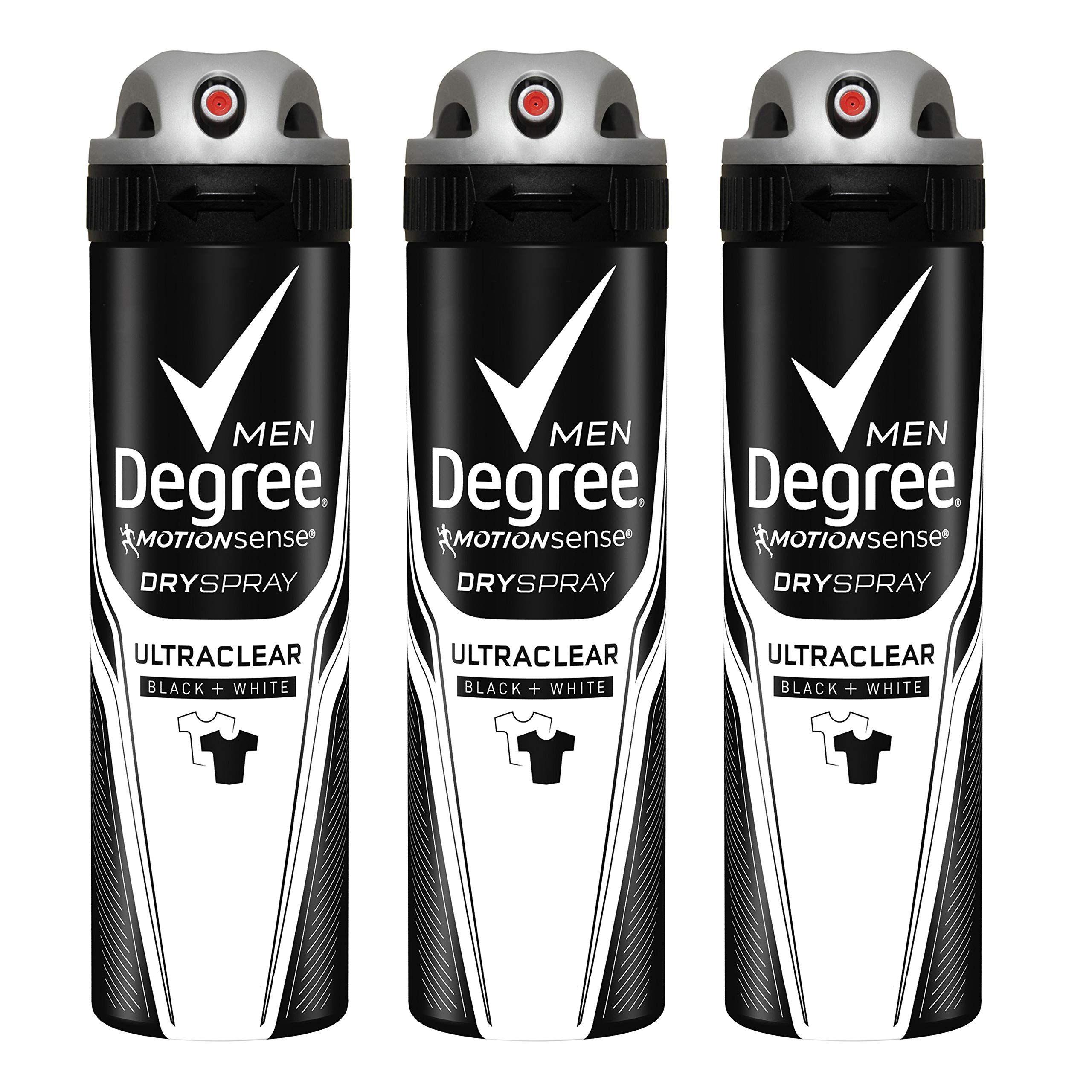Degree Men Motionsense Antiperspirant Deodorant Dry Spray