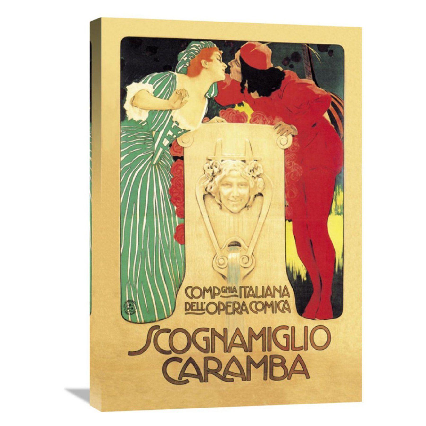 Global Gallery Scognamiglio Caramba Wall Art - GCS-342931-1624-142 ...