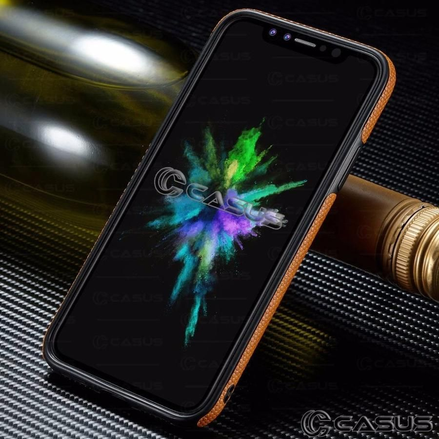 For iphone xs max xr case slim luxury pu leather back