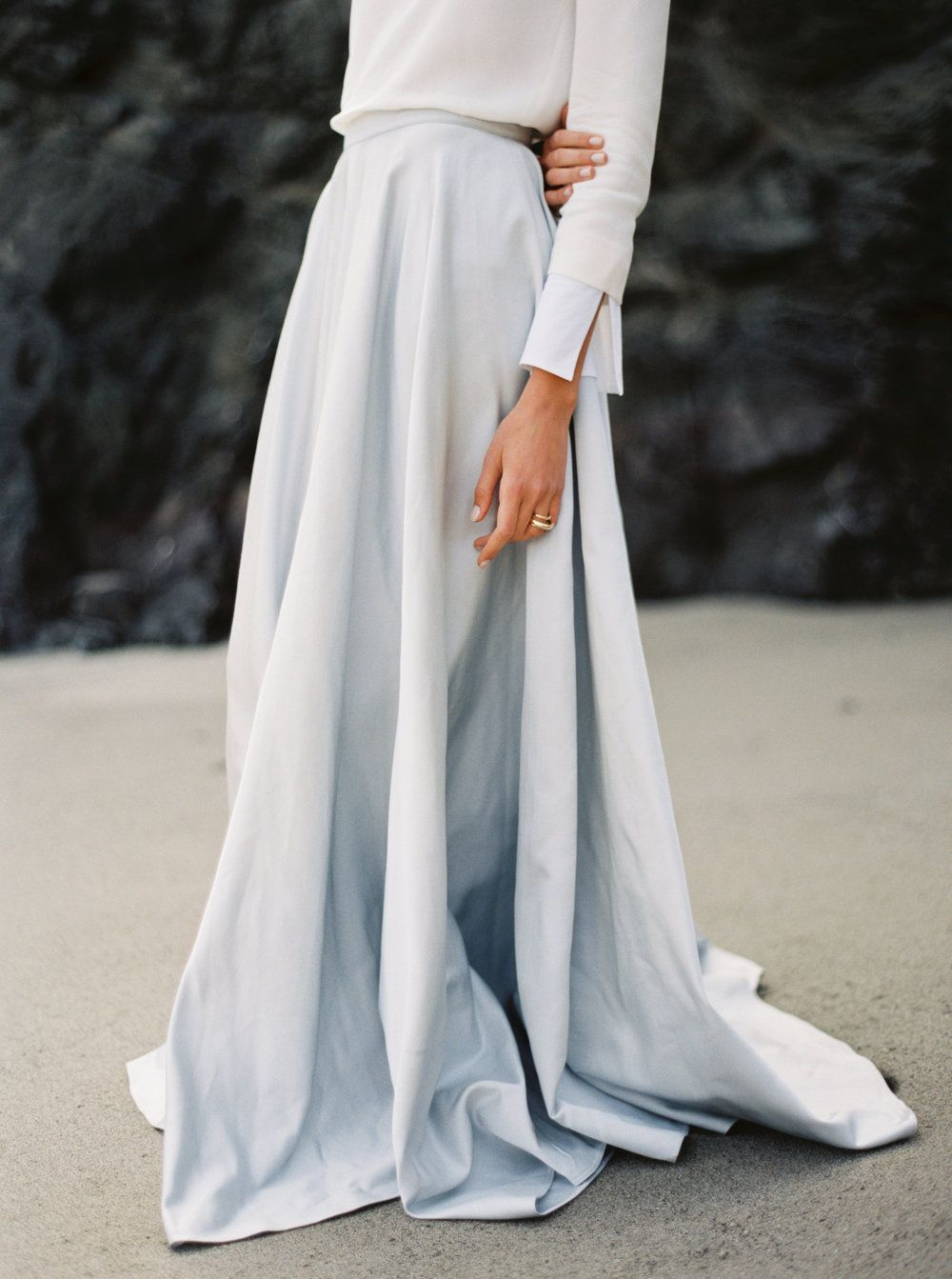 Casual wedding dresses for winter wedding  If I ever decide to marry again  yes to this dress  Wedding