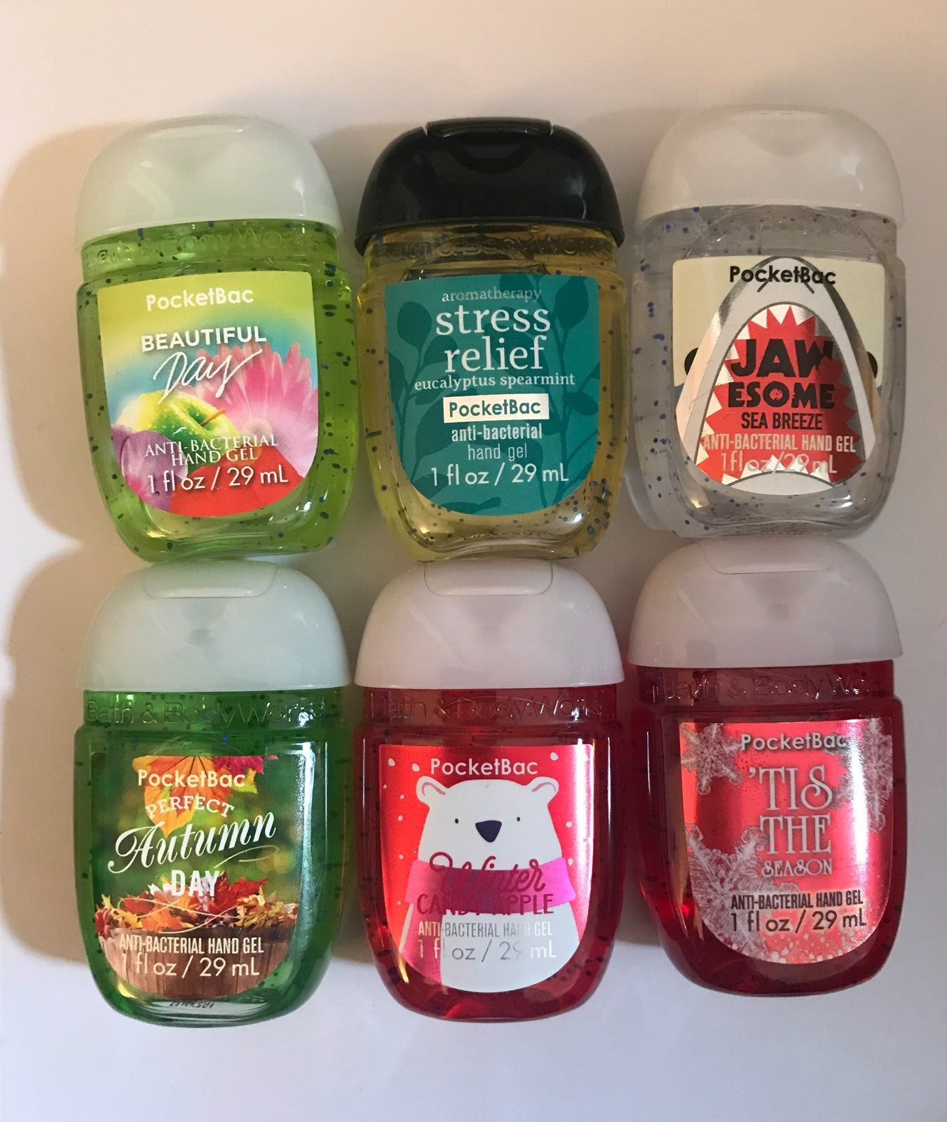 Bath And Bodyworks Hand Sanitizers All New Or Used Once At