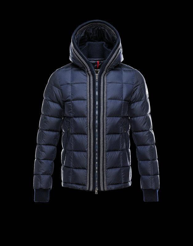 moncler padded zip jacket