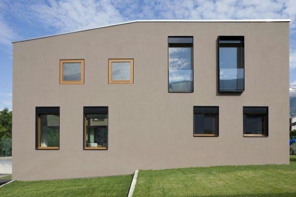 Einfamilienhaus | Welche Farbe? | Pinterest | Einfamilienhaus, Fassaden Und  Hausfassaden