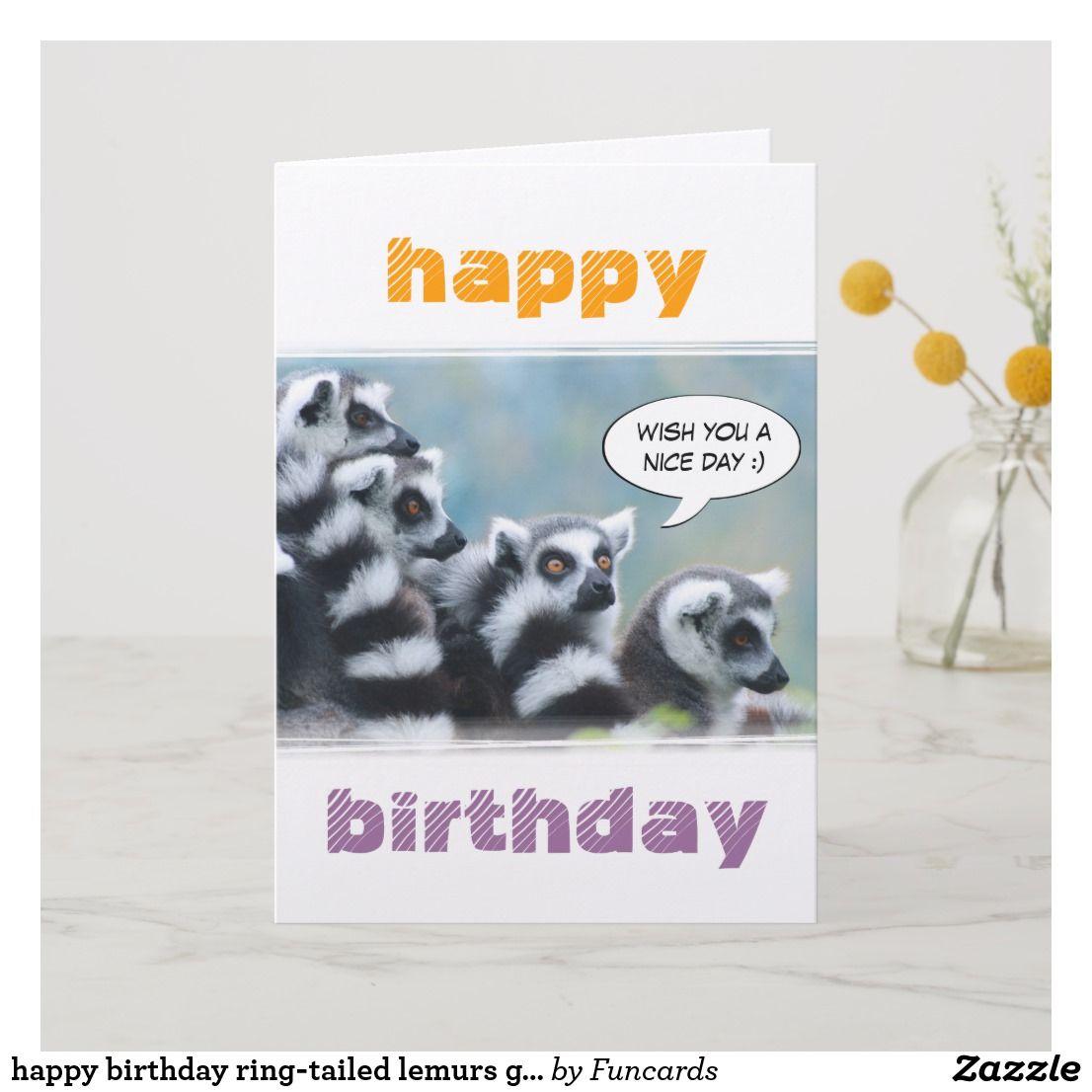 Happy Birthday Lemur Meme Wwwtopsimagescom
