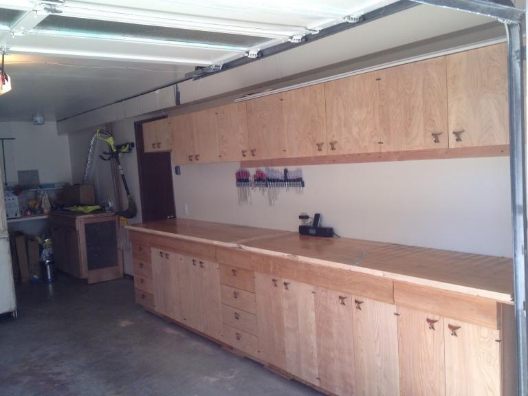 Garage Cabinet Plans Build Your Own Modern Garage Design