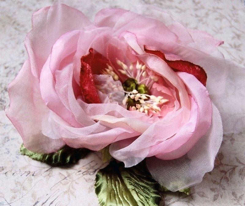Beautiful velvet silk and organdy rose millinery flower blush berry beautiful velvet silk and organdy rose millinery flower blush berry mightylinksfo