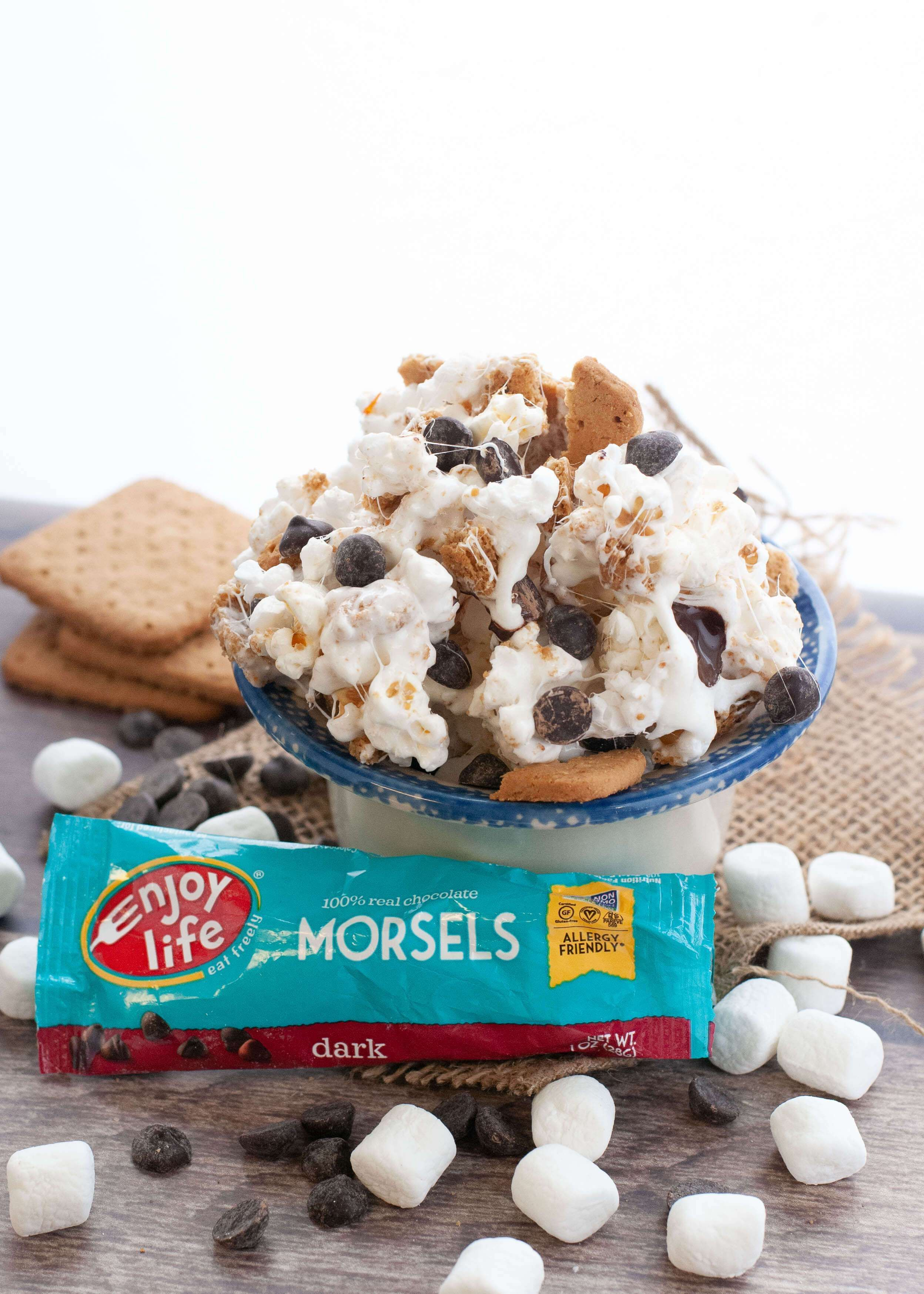 Gluten & Dairy Free S'mores Popcorn Recipe (With images
