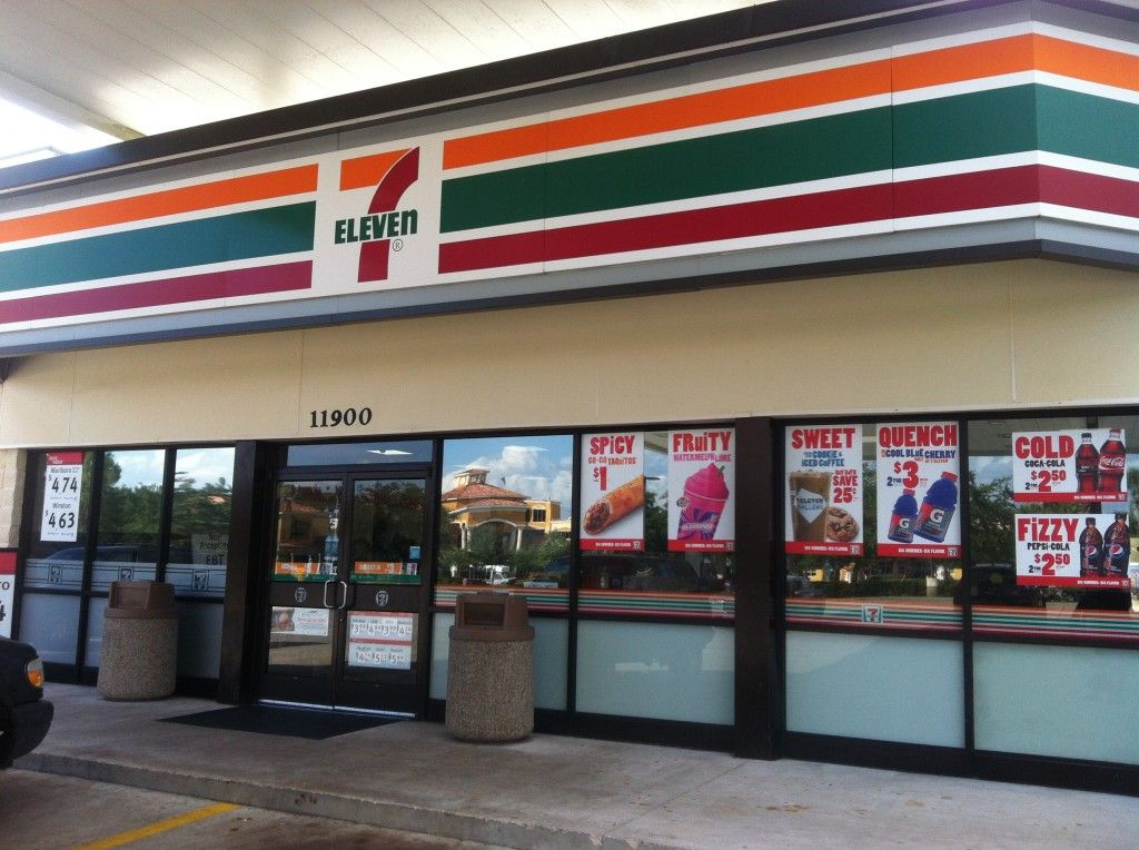 7 11 Store Front U2013 Commercial Window Tinting My Window Tint LA