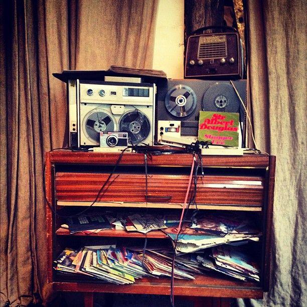 Vintage Recorders and Radios