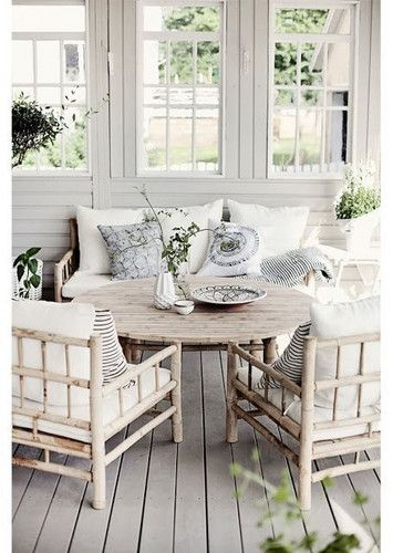 DOMINO:Charming Porch Designs That Inspire Easy Summer Living