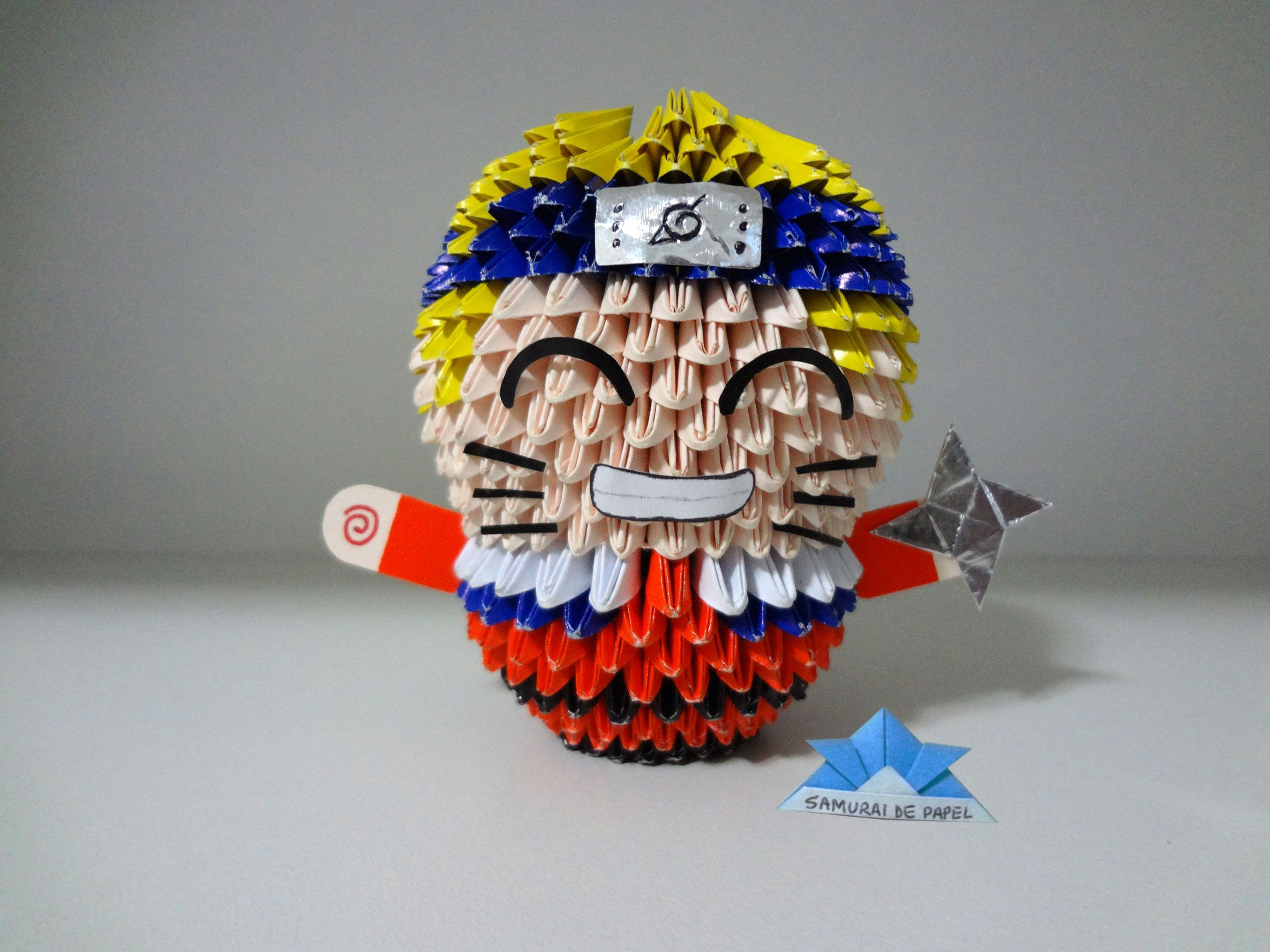 Origami 3d naruto 3d origami pinterest origami 3d and 3d origami 3d naruto jeuxipadfo Images