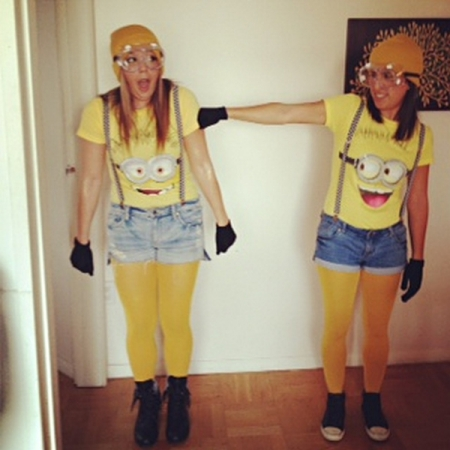 Homemade Despicable Me Minion Costume Idea #Funny Homemade Halloween Costume Ideas #Fallfestival #Costumes & Homemade Despicable Me Minion Costume Idea #Funny Homemade Halloween ...