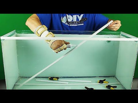 How To Diy Aquarium Trim Tutorial Diy Aquarium Diy Fish Tank Aquarium